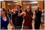 Termíny lekcí podzimních středoškolských tanečních v Google kalendáři. - 22