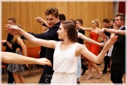 Termíny lekcí podzimních středoškolských tanečních v Google kalendáři. - 26
