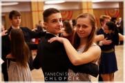 Termíny lekcí podzimních středoškolských tanečních v Google kalendáři. - 50