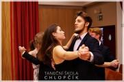 Termíny lekcí podzimních středoškolských tanečních v Google kalendáři. - 57