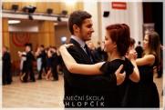 Termíny lekcí podzimních středoškolských tanečních v Google kalendáři. - 58